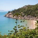 Magnetic Island Beach View over trees