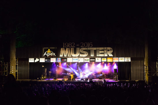 Stage at Gympie Muster 2016