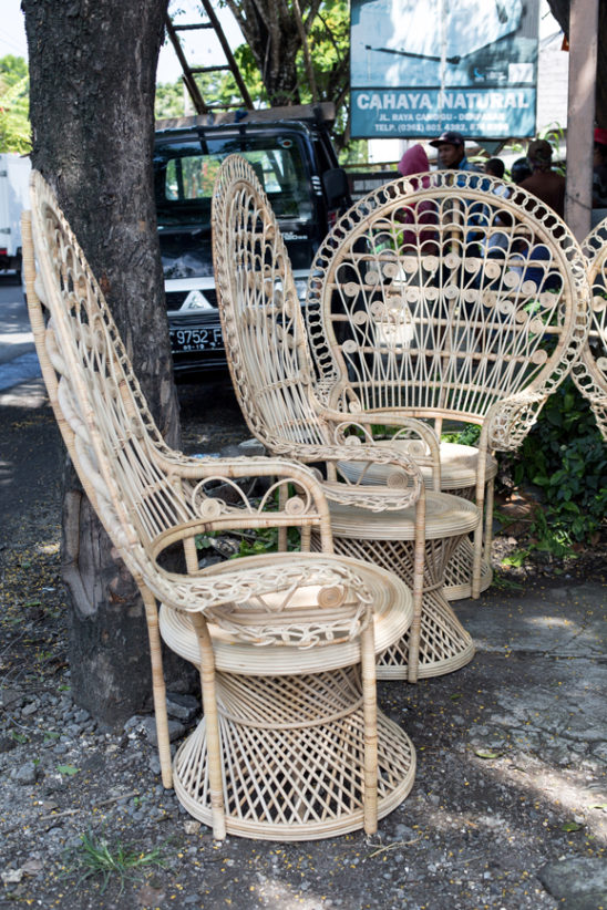 Cane Peacock Chairs