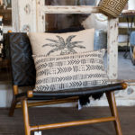 Chair and cushion display