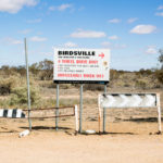 Birdsville warning sign