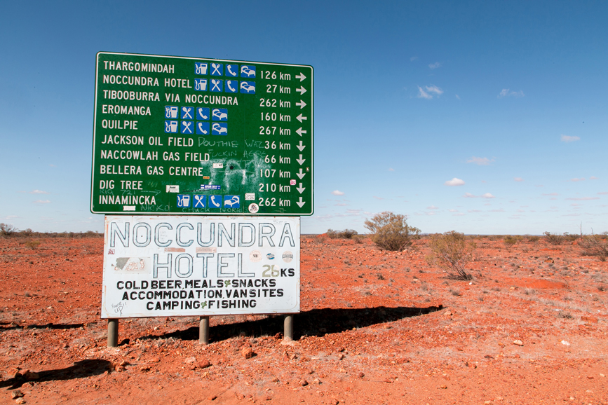 Directions sign