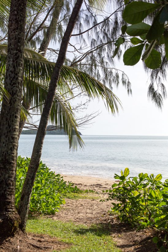 View of Double Island from Palm Cove, Australia