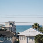 View over the roof tops in Palm Beach Gold Coast Queensland Australia